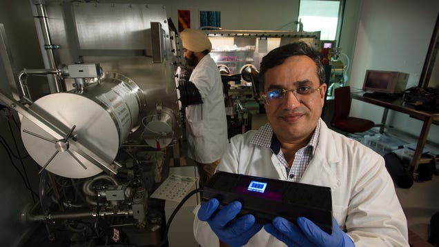 Future Flexible OLED Displays Could Be Made From Human Hair
