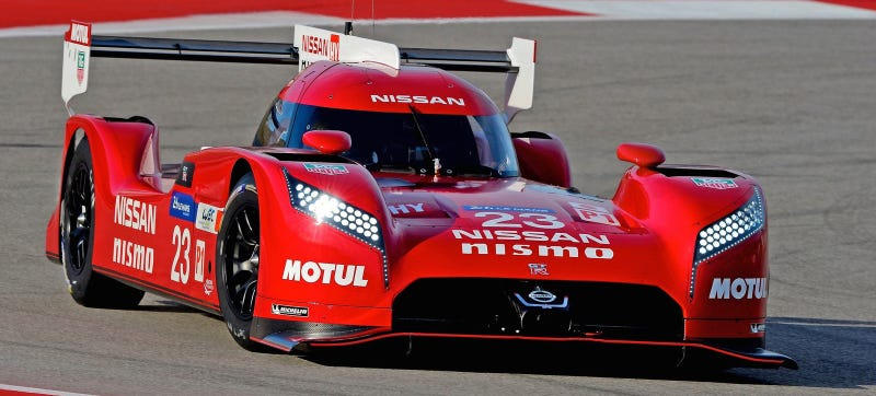 Illustration for article titled This Is How Special Michelins Give An Edge To Nissan's LMP1 Car