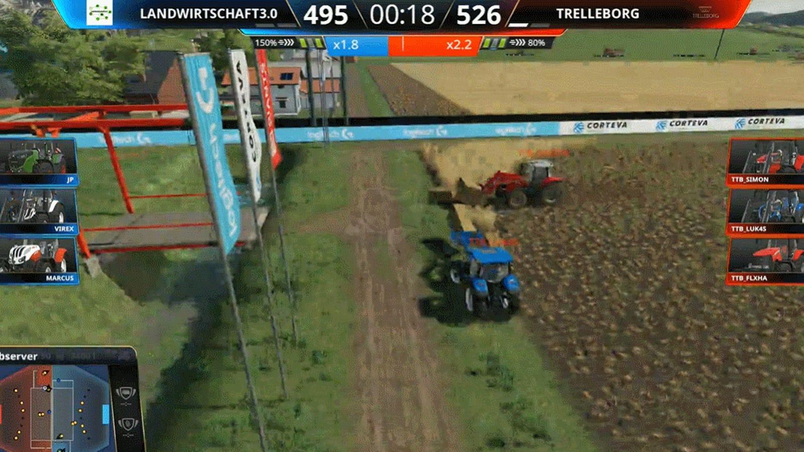Competitive Farming Simulator Is Like An Adorable Tortoise Race
