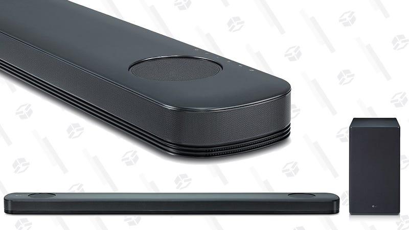 Barra de sonido LG LG SK9Y con Atmos | $420 | MassDropGráfico: Shep McAllister