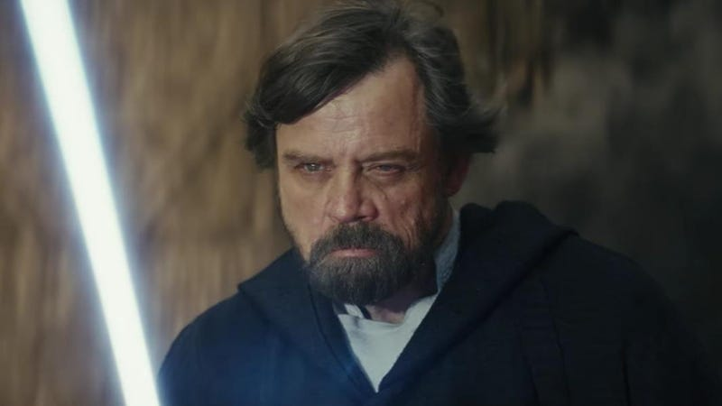 Mark Hamill, seen here in The Last Jedi, spies another galaxy on the horizon.