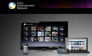Illustration for article titled Sony Brings Sony Entertainment Network Online
