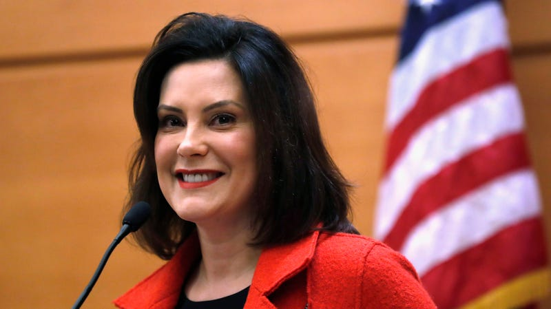 That's the face of a go-getter aka Michigan Governor Gretchen Whitmer