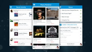Illustration for article titled Rdio Update Brings a Redesign, Unified Player to iOS App
