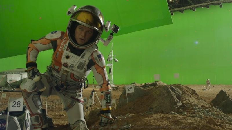 Photo: The Martian, MPC's visual effects reel