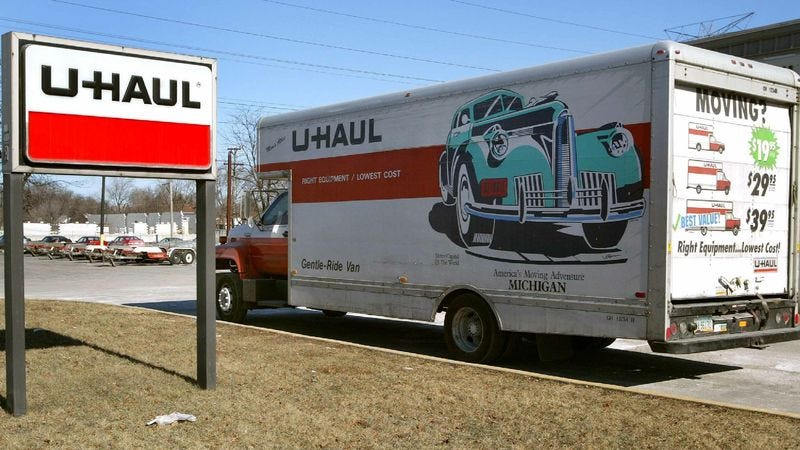 Illustration for article titled U-Haul Offers Discount For Customers Who Will Just Move Back Home In 18 Months After Failure To Make It In Major City