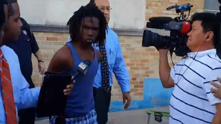 Randy Stewart, 18, charged with aggravated assault, remains in custody.youtube