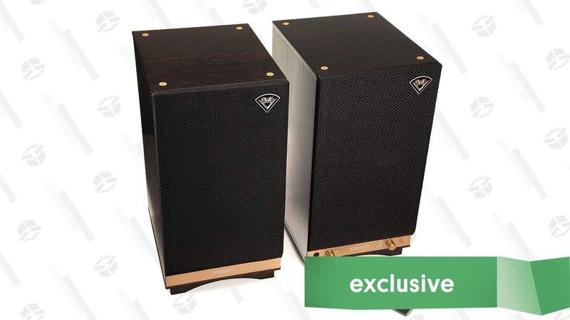 Monitores de audio Klipsch The Sixes   $498   Amazon   Usa el código KINJABGAGráfico: Shep McAllister