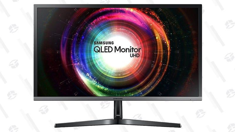"Samsung QLED 28"" 4K Display | $330 | Amazon"
