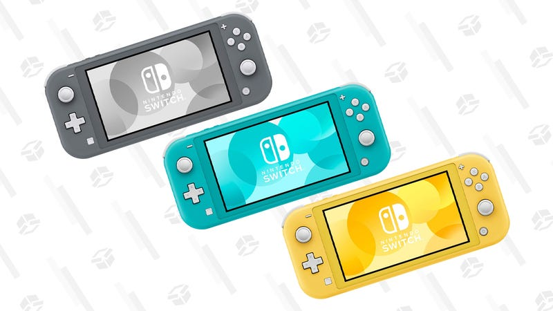 Nintendo Switch Lite (Gray, Yellow, Turquoise, and Pokemon Limited Edition)