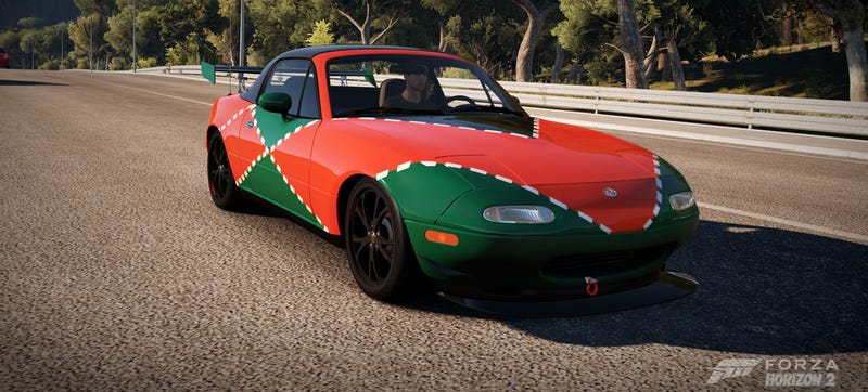 Illustration for article titled Design A Kickass Miata Livery In Forza Horizon 2, Win Glorious Prizes