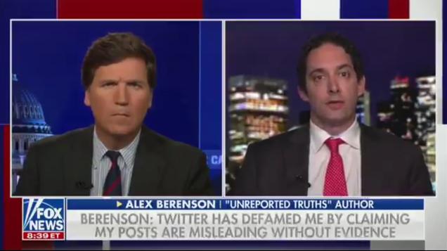Inspiring: Tucker Carlson Offered Money to Help a Banned Anti-Vaxx Conspiracy Theorist Sue Twitter
