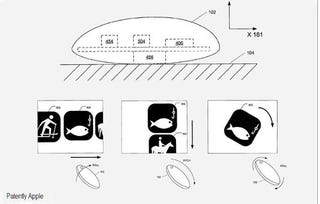Illustration for article titled Apple's Patent For a Rocking Mouse Is Awkward, But So Is Magic Mouse