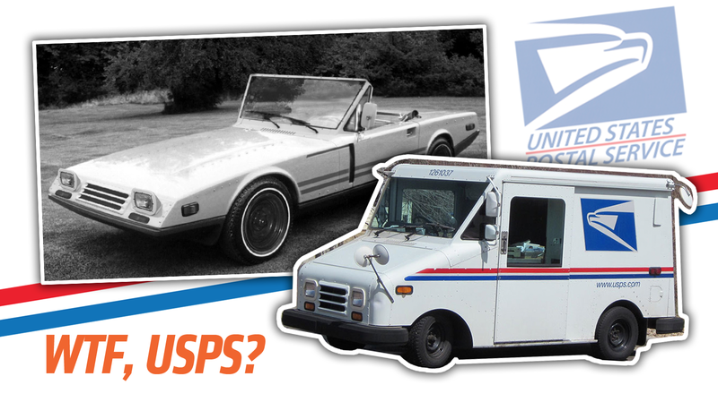 Illustration for article titled I Can't Believe There Was Almost A Mail Truck-Based Sports Car