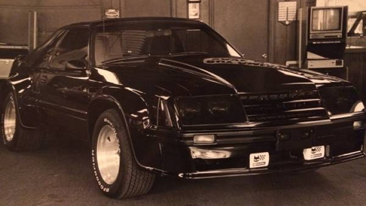 Would Your Pay 9 995 For This Dealer Widened 1982 Ford Mustang Gt