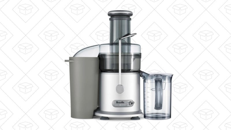 Breville JE98XL Juice Fountain Plus 850-Watt Juice Extractor | $118 | Amazon