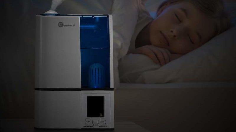 TaoTronics Cool Mist Ultrasonic Humidifier | $33 | Amazon | Promo code KINJAXK2