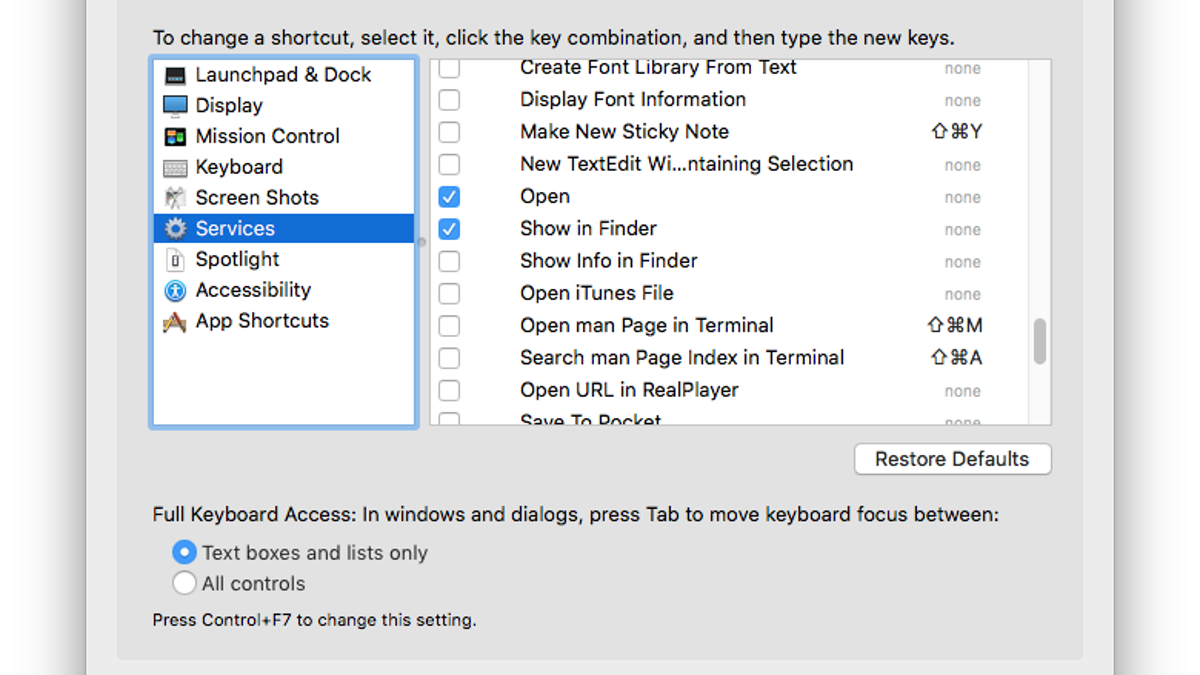 Personalize Your Mac's Right-Click Menu