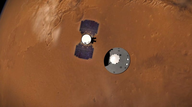 Magnetic Field on Mars Mysteriously Pulses at Night, NASA's InSight Lander Finds