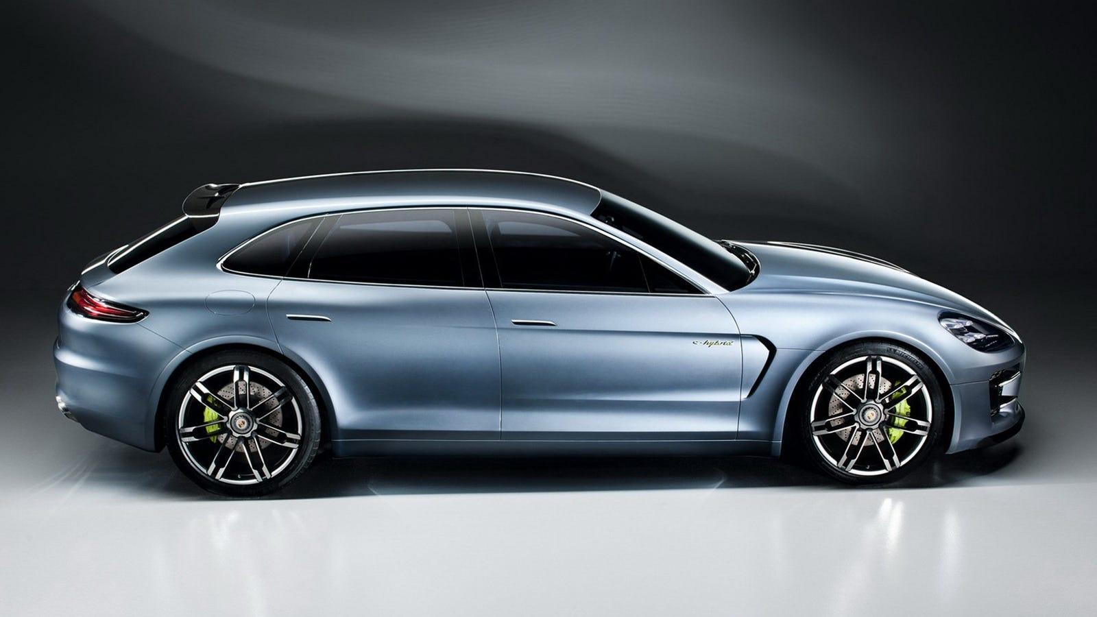 Porsche panamera sport turismo concept yes its a porsche wagon sciox Image collections