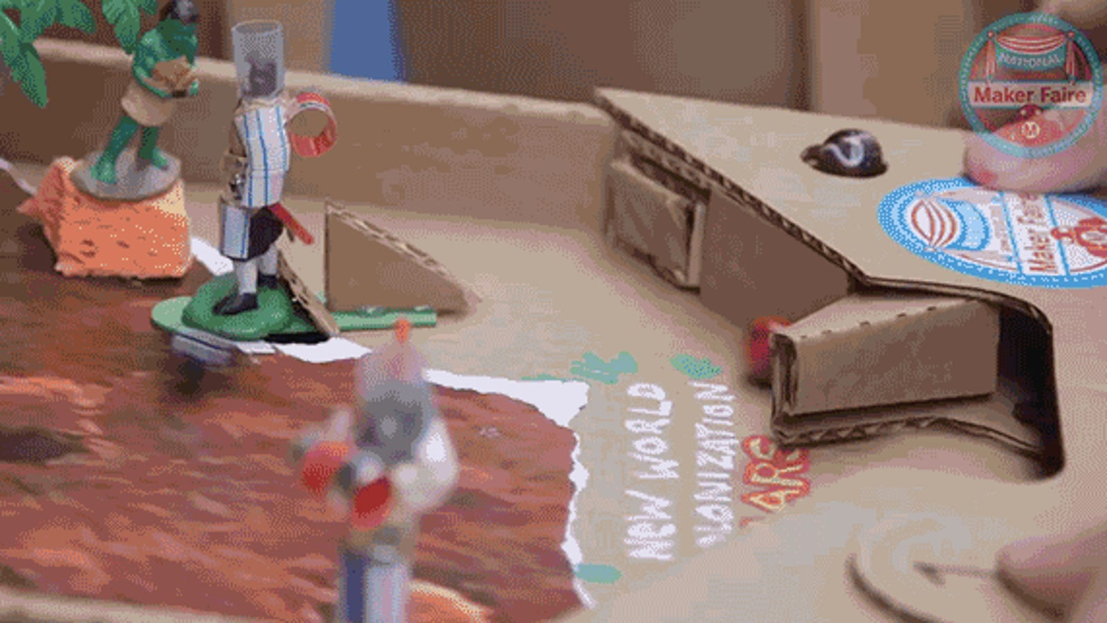 You Can Customize These Cardboard Pinball Machines However You Want