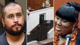 George Zimmerman; Trayvon Martin's hoodie; Rachel JeantelPool/Getty Images; Pool/Getty Images; Pool/Getty Images