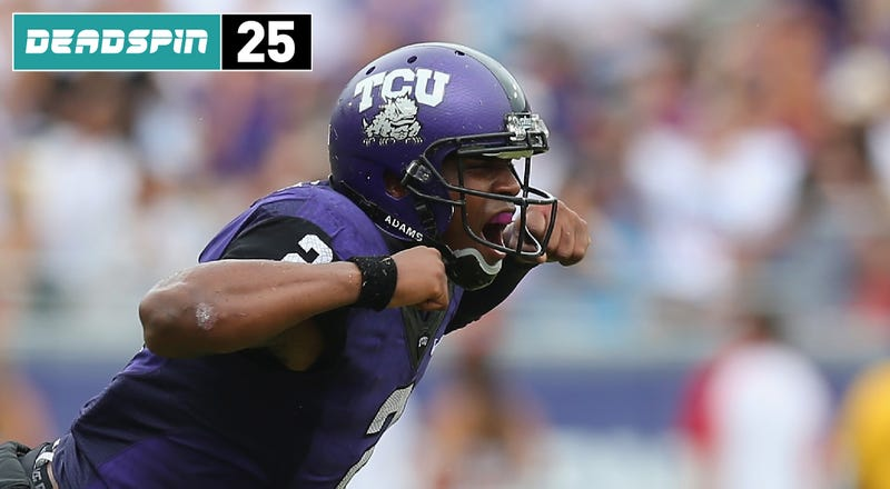 Illustration for article titled Deadspin 25: TCU Is Angry, And It Won't Be Ignored
