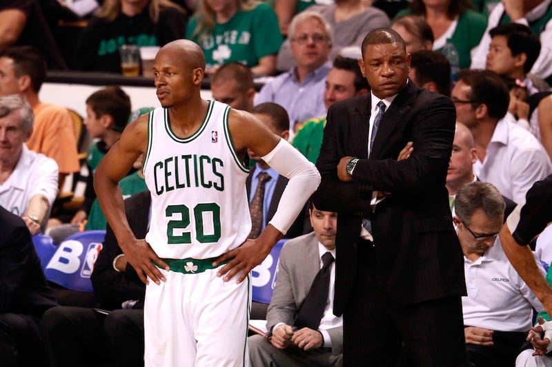 Illustration for article titled Ray Allen Leaves Boston Just As He Found It: In Shambles