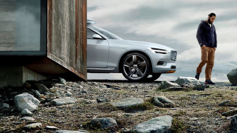 The Volvo Concept Xc Coupe Is A Slick Tease For The Next Xc90
