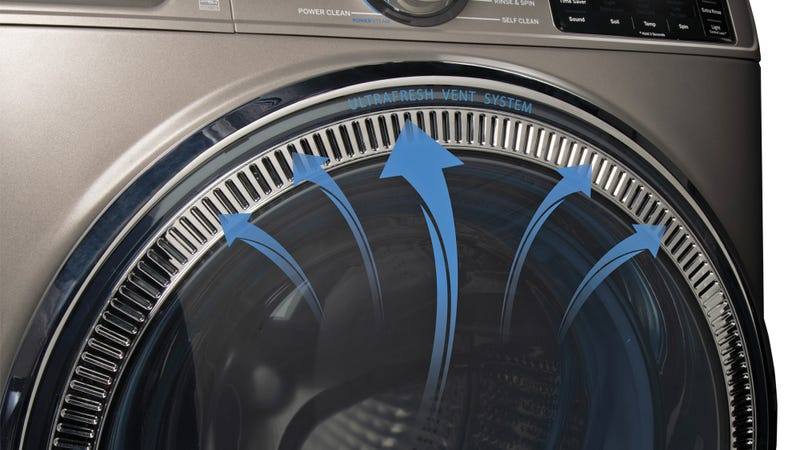 Illustration for article titled GE's Got a Solution For Finally Fixing Stinky Washing Machines