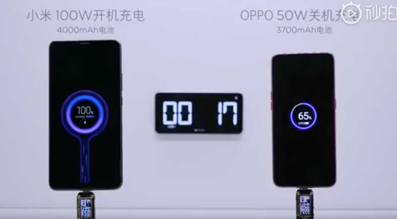 Illustration for article titled Xiaomi tiene un alucinante cargador de 100W capaz de cargar un teléfono en tan solo 17 minutos