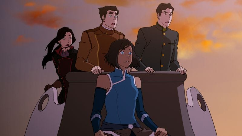 "Illustration for article titled The Legend Of Korra: ""Kuvira's Gambit"""
