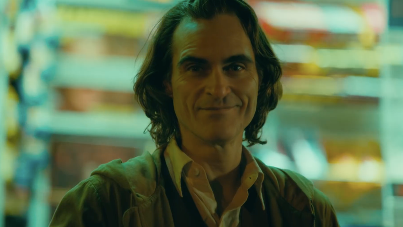 Joaquin Phoenix as Arthur Fleck, the Joker.