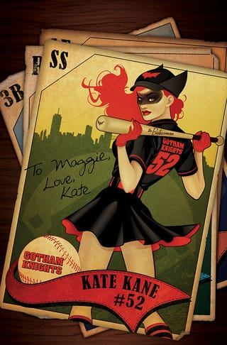 Illustration for article titled DC Bombshells #1 Review: A Real Show Stopper