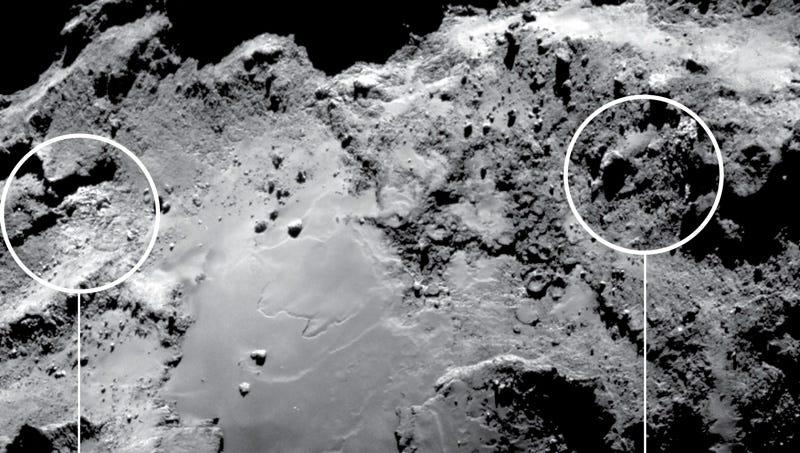 Illustration for article titled Ya no cabe duda: Rosetta confirma que hay cantidades significativas de agua en el cometa 67P