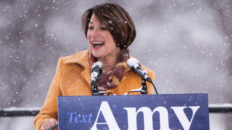 Illustration for article titled Amy Klobuchar Pledges To Fight Everyday Americans