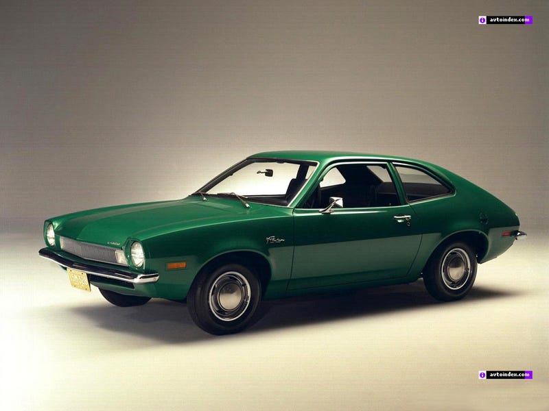 Illustration for article titled A bizarrely classy photo of a '71 Pinto