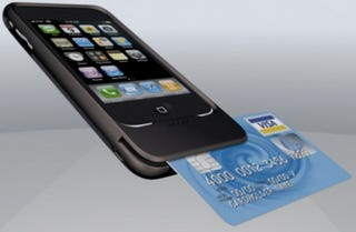 Illustration for article titled Mophie iPhone Credit Card Scanner