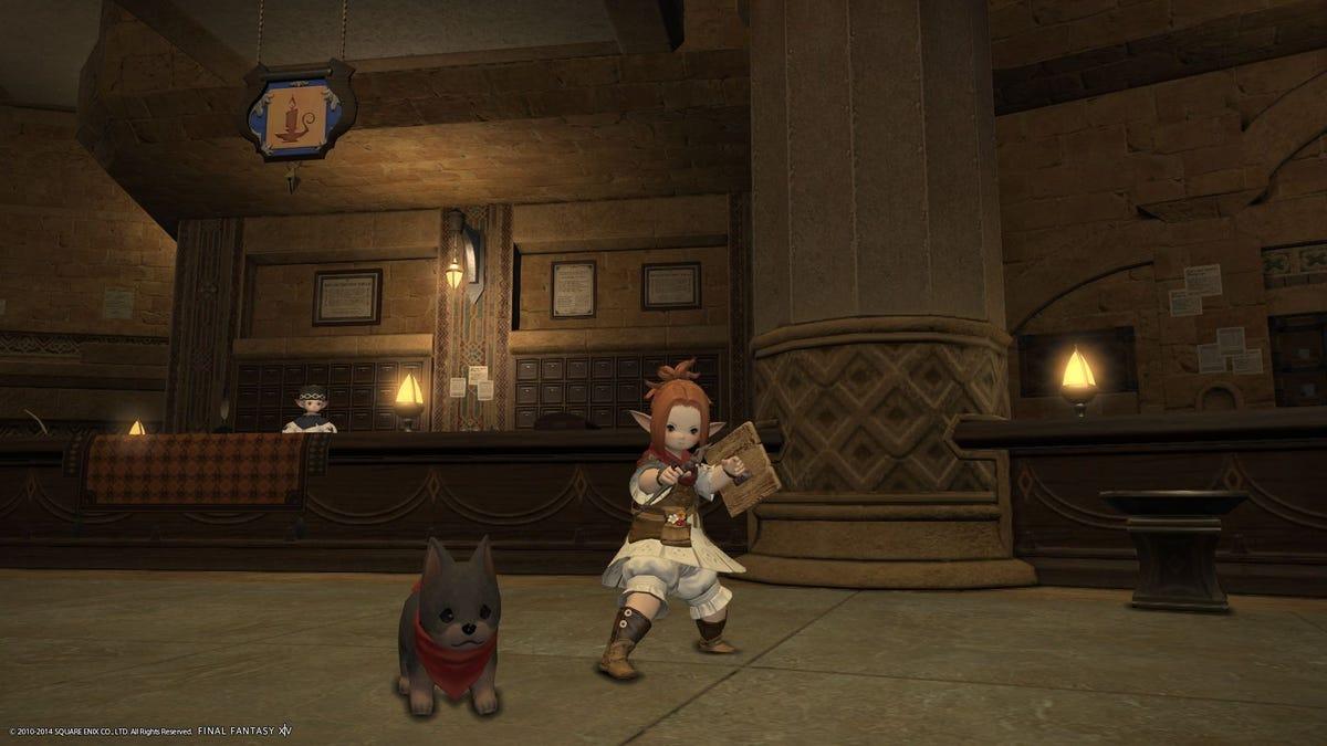 Go Fo(u)rth, Warrior of Light! Final Fantasy XIV PS4 Impressions