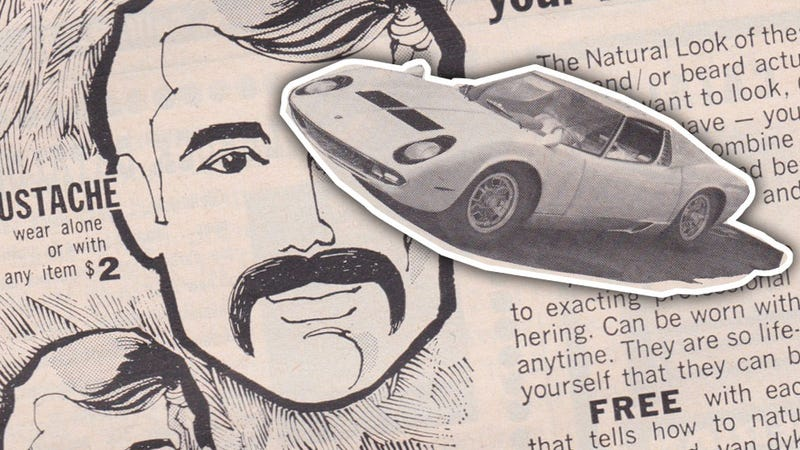 Illustration for article titled Is This The Best Pairing Of Ads In A Car Magazine Ever, Or What?