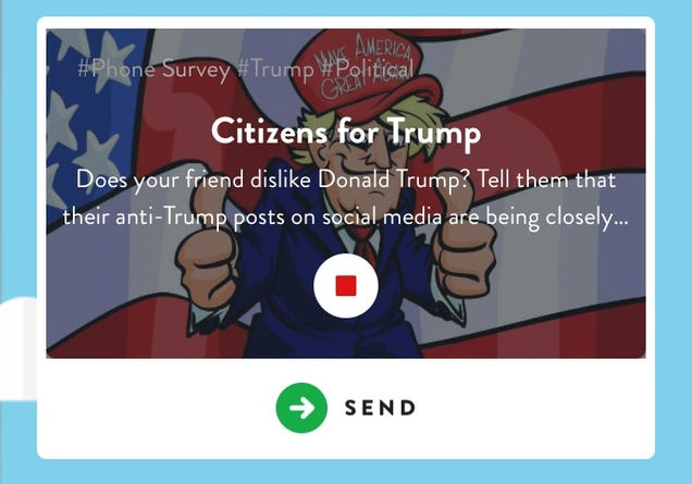 Those  Citizens for Trump  Robocalls Were a Prank Gone Wrong