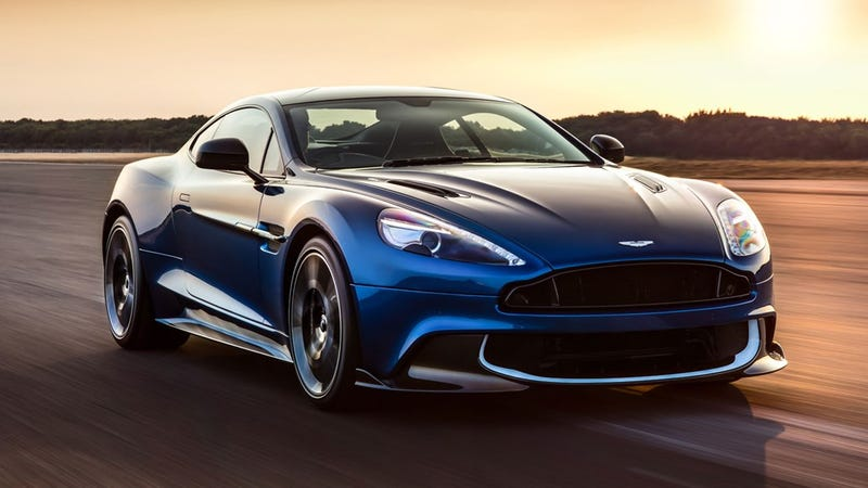 Illustration for article titled Aston Martin's Updated Vanquish S Is A Beautiful Reminder Of Its Naturally Aspirated V12