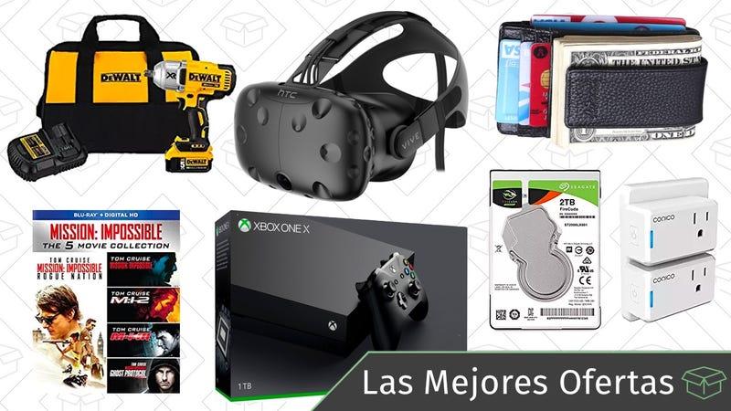 Illustration for article titled Las mejores ofertas de este martes: Carteras minimalistas, HTC Vive, herramientas DEWALT y más