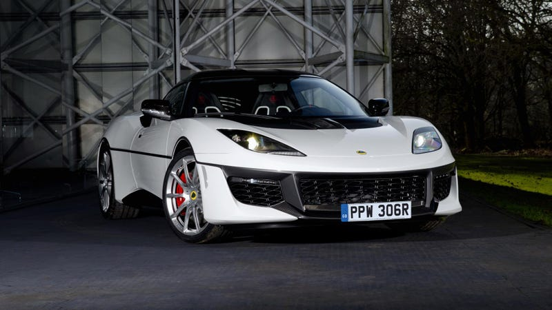 Illustration for article titled Remember that Bond-themed Evora? Here it is.