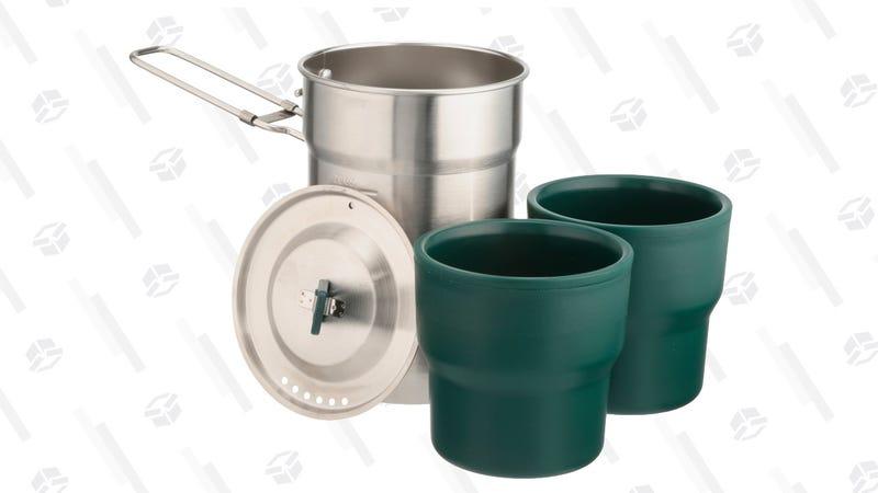 Stanley's Steel Cooker + Nesting Cups Adventure Camp Cook Set 3 pc Pack | $9 | Amazon & Walmart