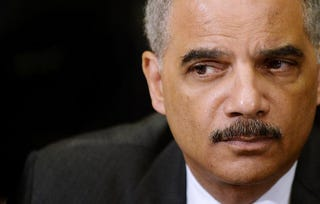 Attorney General Eric H. Holder Jr.Olivier Douliery-Pool/Getty Images