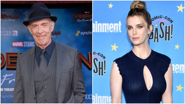 J.K. Simmons and GLOW's Betty Gilpin get picked up in Chris Pratt's Ghost Draft