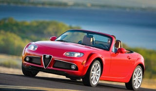 Illustration for article titled Alfa Romeo Capitulates, Will Not Release MX-5 Twin