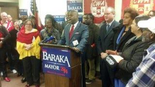 Newark Mayor-elect Ras BarakaTwitter