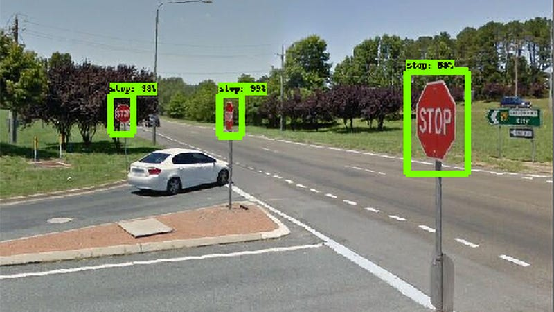 Illustration for article titled New AI Searches Google Street View For Street Signs That Need Repairs